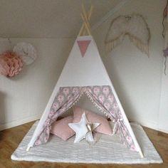 @benogjo teepee tent. Girls room, kids room decor