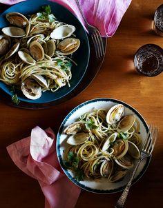 Nina Compton's Recipe for Spaghetti Vongole