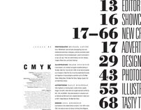 CMYK Magazine :: table.of.contents