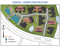 Brookside Estates Patio Homes Phase 5 Site Map, Under Construction, Homes, Patio, Houses, Home, Computer Case, Terrace
