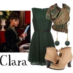 """""""Clara Oswald"""" by companionclothes on Polyvore"""
