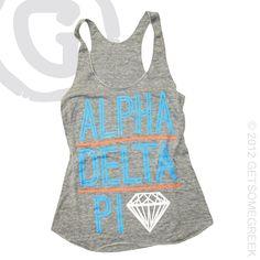 ALPHA DELTA PI CUSTOM GROUP ORDER #ADPI #DIAMONDS