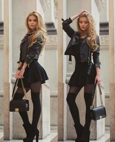8 incredible fashion tips for women with a wide back - Frauen Style - Modetrends Mode Outfits, Fashion Outfits, Fashion Trends, Club Outfits For Women, Woman Outfits, Fashion Ideas, Christmas Outfits For Women, Outfits 2016, Teen Outfits