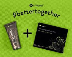 I think the #cleanser is highly underrepresented. It's hands down one of my favorite products in our line. I use it on my body and face!!!! And ALWAYS when wrapping. It's magical! Gentle! And #ItWorks!