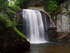Horseshoe Fall in Transylvania County, NC. One of over 250 named falls.