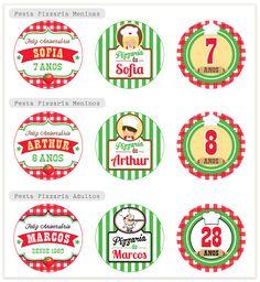 Festa Pizzaria Personalizada                                                                                                                                                     Mais