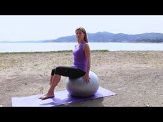 Belly Workouts on the Plyometric Ball : Pilates & Core Exercises