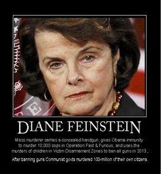 Dianne Feinstein Evil | the evil jewess DIANNE FEINSTEIN SUPPORTS the jewish war…