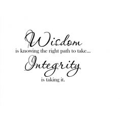inspirational quotes on integrity inspirational
