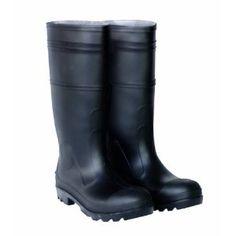 Amazon.com: CLC Rain Wear R23013 Over The Sock Black PVC Rain Boot, Size 13: Home Improvement