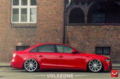 Eye-candy Red Audi on Custom Wheels Red Audi, Custom Wheels, Military Discounts, Audi A4, Eye Candy, This Is Us, Beetle, Car, Vw Bugs