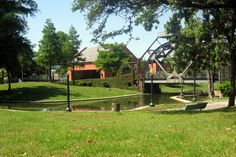 Armstrong Park provides a scenic escape right next to the French Quarter, a perfect festival site in New Orleans.