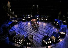 Baskerville. The Old Globe. Scenic design by Wilson Chin.