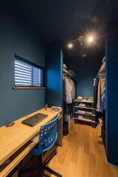 ブルーが良い感じの家 | 滋賀で設計士とつくる注文住宅 ルポハウス