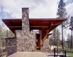 Ridge House  PROJECT ROLES Tom Kundig, Design Principal Steven Rainville LOCATION & YEAR Eastern Washington, 2001