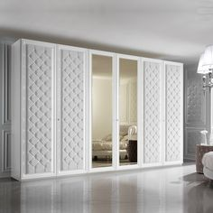 Large 6 Door Button Upholstered Fitted Wardrobe In 2019 Wardrobes with proportions 1000 X 1000 6 Door Wardrobe Bedroom Furniture - White is one of those Wardrobe Door Designs, Wardrobe Design Bedroom, Bedroom Furniture Design, Wardrobe Doors, Closet Designs, Bedroom Decor, Wardrobe With Drawers, Glass Wardrobe, Wardrobe Furniture