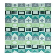 Playtime Mini Blanket Green