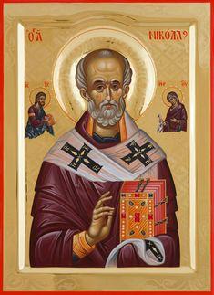 Byzantine Icons, Saint Nicholas, Orthodox Icons, Ikon, Saints, Statue, Art, Art Background, Kunst