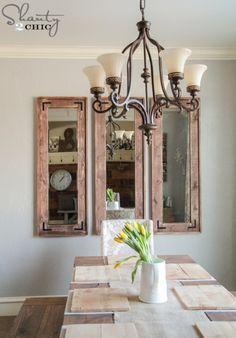 DIY Full Length Mirror