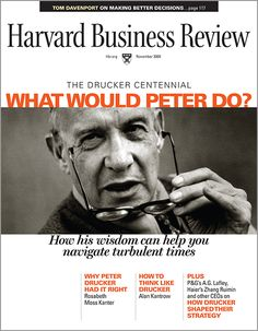 Why Read Peter Drucker? | Drucker's real contribution lies in his integrative, holistic thinking; fair-mindedness; and dispassionate objectivity. One can learn more—and more deeply—from observing the discipline of his mind than from studying the content of his thought. (DD/11/09) || Drucker