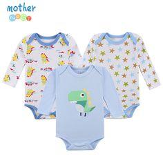 Mother nest 3 개/몫 2017 새로운 패션 아이 소년 옷 만화 장난 꾸러기 소년 소녀 아기 장난 꾸러기 아기 의류