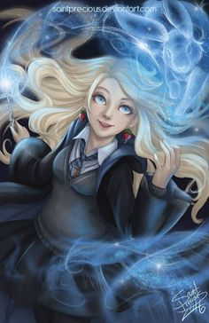 Harry Potter Luna Lovegood by SaintPreciousYou can find Luna lovegood and more on our website.Harry Potter Luna Lovegood by SaintPrecious Fanart Harry Potter, Harry Potter Poster, Harry Potter Girl, Harry Potter Artwork, Harry Potter Drawings, Harry Potter Wallpaper, Harry Potter Facts, Harry Potter Hogwarts, Ravenclaw