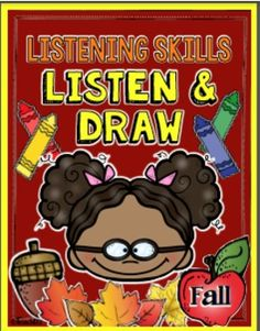 FALL themed: Listening skills are so important for academic achievement and following classroom discipline plan. Listen and Draw lessons help strengthen students listening skills plus it includes a writing assignment that is differentiated. These are also great documentation for RTI and parent-teacher conferences. Themes include topics such as: Johnny Appleseed, farm, crow, spider, garden, football, pumpkin, tree, apple, leaves, and more!