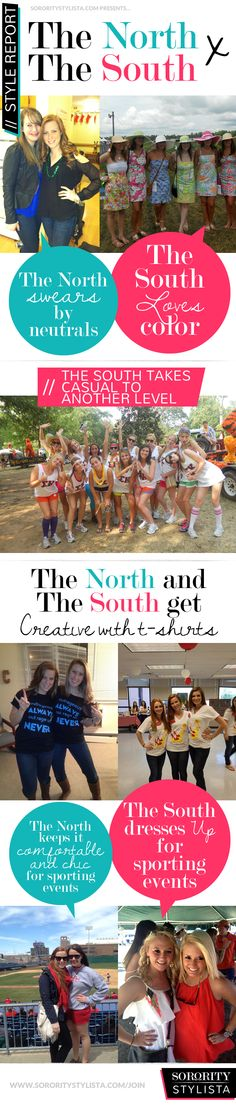 Style Report: North vs South!