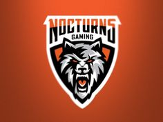 Nocturns Gaming by GRAPHIC MANIAC #Design Popular #Dribbble #shots