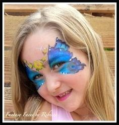 Face Painting, Butterfly, Fantasy Faces by Rebecca - Home - Seal Beach, CA