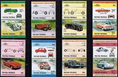 Tuvalu Niutao 1984 Cars Set Fine Mint SG Listed Scott 1 8 Other Commonwealth Stamps here