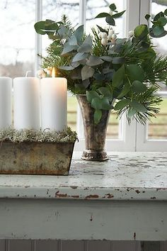 DECORATE candlelight arrangement  #incy interiors and #dream christmas