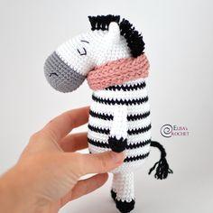 Zelda the Zebra Free Crochet PatternBy Elisa's Crochet