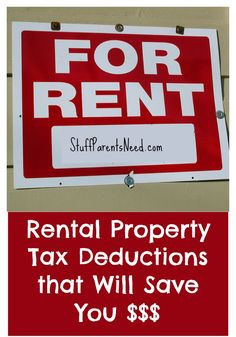 Rental Property Tax Deductions (and a Nice Price Break on Tax Prep) Own a rental property? You need to take note of these tax deduction opportunities you may be missing! Income Property, Investment Property, Investing In Rental Property, Investment Advice, Income Tax, Property Investor, Investment Companies, Real Estate Rentals, Tax Preparation