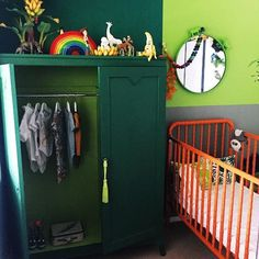 Green and neo-mint are the new trend for kids bedrooms this year. Discover this trend with Circu: circu.net