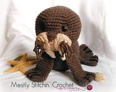 Walrus Crochet pattern by Meredith May