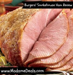 Burgers smokehouse ham review!