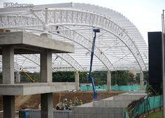 Las obras de los Juegos Mundiales avanzan a buen paso El Diamante de Softball sería entregado entre el 16 y el 20 de julio. Es uno de los nuevos escenarios que tendrá la ciudad.