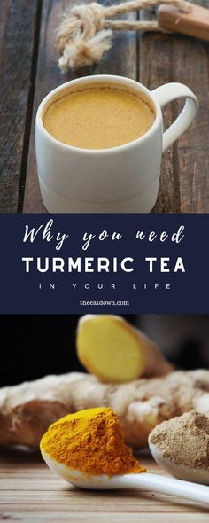 Turmeric is a great way to heal, cleanse and detoxify your body and liver. With milk, honey and turmeric powder. #recipe #turmeric #tea #heathy #turmerictea #health #wellness #detox