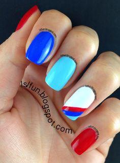 BMW Nail Design #nails #lslfunblog