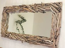 super mirror driftwood unique specimen driftwood solid country house - All For Decoration Foto Frame, Contemporary Floor Lamps, Formal Gardens, Wood Interiors, Modern Rustic, Driftwood, Interior Inspiration, Diy Furniture, Picture Frames