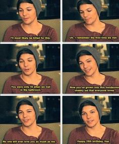 this is the CUTEST thing i have ever seen in my entire life. my heart just exploded from the adorableness that is louis tomlinson.