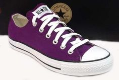 Wear my Converse almost everywear. I would like a pair of purple ones and green ones. These would be perfect!