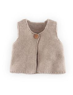 Knitted Cosy Vest -- inspiration from Baby Boden