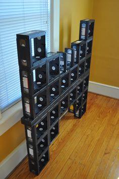 multimueble  de cassetes dvd