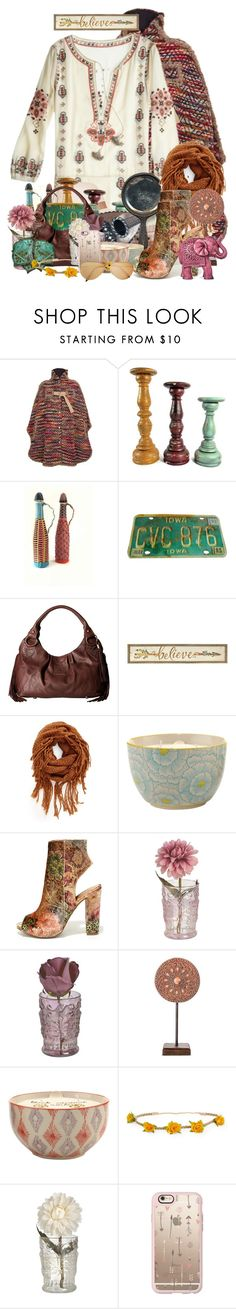 """Boho Mix"" by majezy ❤ liked on Polyvore featuring See by Chloé, CUSTO LINE, STS Ranchwear, BP., Paddywax, Bamboo, Boho Boutique, Aéropostale and Casetify"