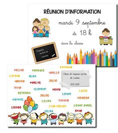 Affiches pour porte Classroom Organisation, Classroom Setup, School Classroom, Classroom Management, Ps Plus, Core French, Teachers Corner, French Classroom, Petite Section
