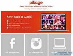 Pikage : un service en ligne gratuit pour réaliser facilement des collages photo