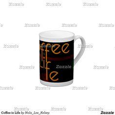 Coffee is Life Bone China Cup