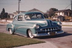 Kustom Cars of the 1950's also known as Custom cars